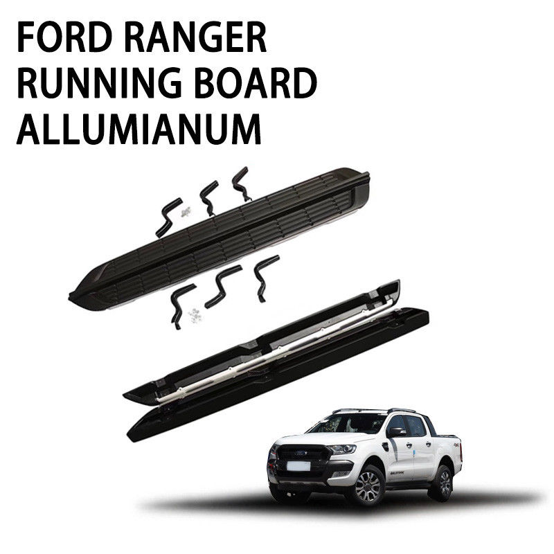 Automotive Vehicle Running Boards Standard Size Aluminium Alloy Material