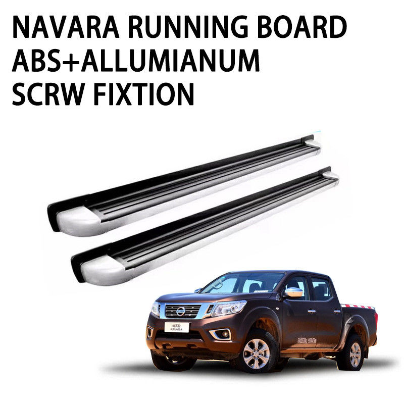 Robust Structure Pickup Truck Running Boards Screw Fixation High Strength